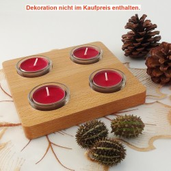 adventskranz holz