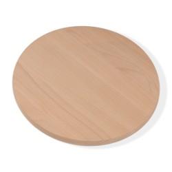 Rundes, natürliches Holzbrett,für alles was Sie schneiden wollen