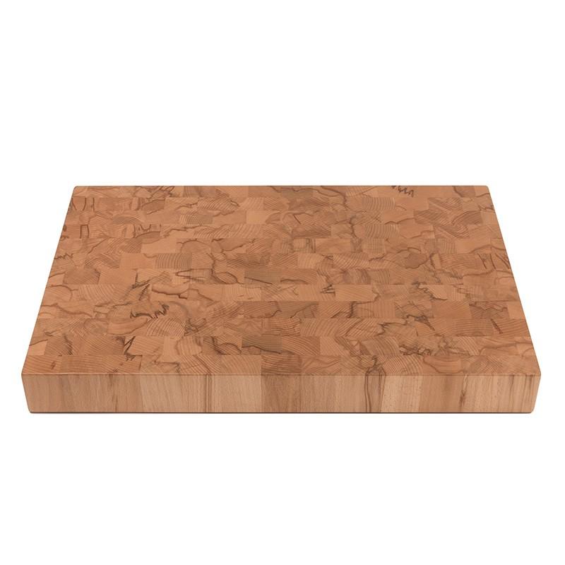 """Chopping block cutting block """"xenobys"""" 56.5 x 38.5 x 6 cm, core beech"""